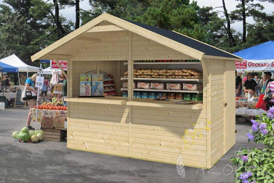 Standard Kiosk 3 0m X 2 0m Ideal For Stall Holders