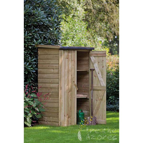 Small Garden Cabinet Makes An Ideal Tool Shed | Breathe Azores